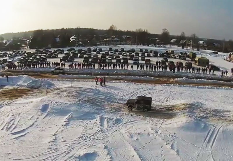 25 февраля, Кабаньи бега-зима 2017, 4 этап Кубка Главы ПМР МО Kaban-bega-9